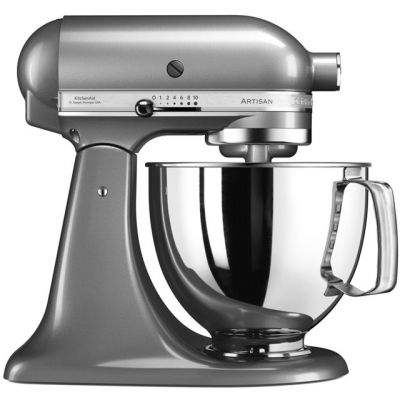 KitchenAid Artisan 5KSM175PSBCU Stand Mixer with 4.8 Litre Bowl - Contour Silver Best Price, Cheapest Prices