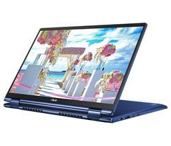 """ASUS ZenBook Flip 13 UX362FA 13.3"""" Intel® Core™ i5 2 in 1 Laptop - 256 GB SSD, Blue Best Price, Cheapest Prices"""