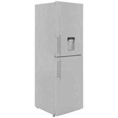 Beko CFP1691DS 50/50 Frost Free Fridge Freezer - Silver - A+ Rated Best Price, Cheapest Prices