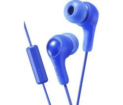 JVC HA-FX7M Gumy Plus Headphones – Blue Best Price, Cheapest Prices