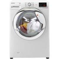 Hoover DXOC68AC3 Dynamic Next 8kg 1600rpm Freestanding Washing Machine With One Touch - White With Chrome Door Best Price, Cheapest Prices