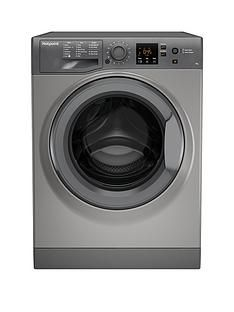 Hotpoint Nswm743Ugg 7Kg Load, 1400 Spin Washing Machine - Graphite Best Price, Cheapest Prices