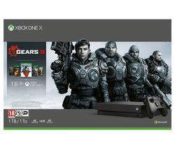 MICROSOFT Xbox One X with Gears 5 Best Price, Cheapest Prices