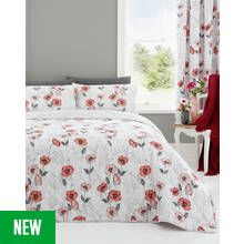 Dreams N Drapes Fliss Red Bedding Set - Double Best Price, Cheapest Prices