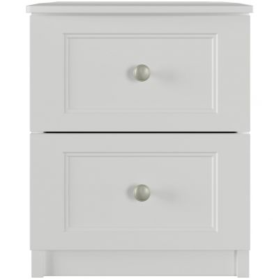 One Call Bexley 2 Drawer Bedside Chest