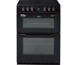 BELLING FSE60DOP 60 cm Electric Ceramic Cooker - Black Best Price, Cheapest Prices