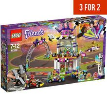LEGO Friends Heartlake The Big Race Day Kart Toy - 41352 Best Price, Cheapest Prices
