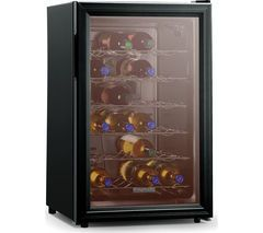 BAUMATIC BW28BL Wine Cooler - Black Best Price, Cheapest Prices