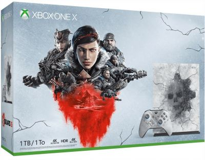 Xbox One X 1TB Console & Gears 5 Limited Edition Bundle Best Price, Cheapest Prices