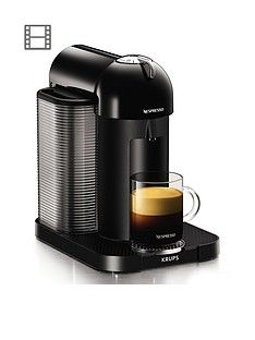 Nespresso XN901840 Vertuo Coffee Machine by Krups - Black Best Price, Cheapest Prices