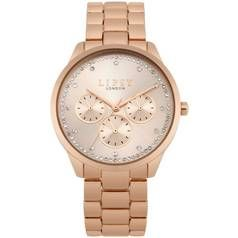 Lipsy Ladies Chronograph Rose Gold Coloured Bracelet Watch Best Price, Cheapest Prices