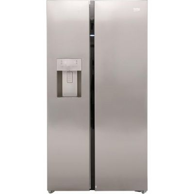 Beko ASGN542X American Fridge Freezer - Stainless Steel - A+ Rated Best Price, Cheapest Prices