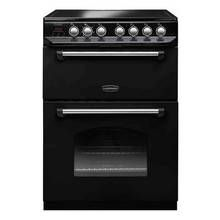 Rangemaster CLAS60ECBL/C Classic Electric Cooker - Black Best Price, Cheapest Prices