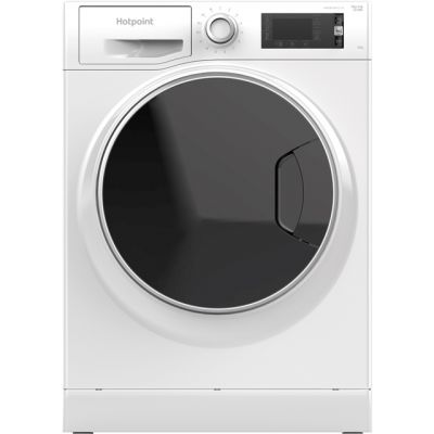 Hotpoint ActiveCare NLLCD1045WDAWUK Wifi Connected 10Kg Washing Machine with 1400 rpm - White - A+++ Rated Best Price, Cheapest Prices