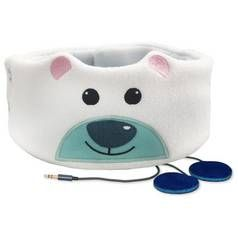 Snuggly Rascals Kids Over-Ear Headphones - Polar Bear Best Price, Cheapest Prices