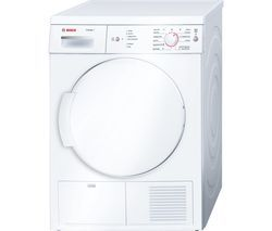 BOSCH Classixx 7 WTE84106GB Tumble Dryer - White Best Price, Cheapest Prices