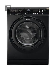 Hotpoint Extra WMXTF742K7kg Load, 1400 Spin Washing Machine A++ EnergyRating - Black Best Price, Cheapest Prices
