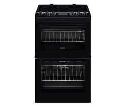 ZANUSSI ZCV46250BA 55 cm Electric Cooker - Black Best Price, Cheapest Prices