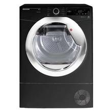 Hoover DXC10TCEB 10KG Condenser Tumble Dryer - Black Best Price, Cheapest Prices