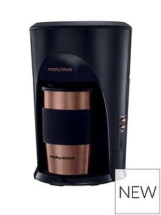 Morphy Richards Morphy Richards Coffee On The Go Filter Coffee Machine 162741 Limited Edition Best Price, Cheapest Prices