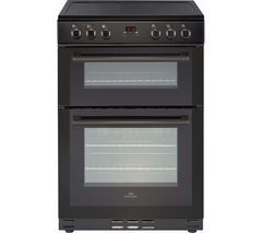 NEW WORLD NW 60EDOMC BLK 60 cm Electric Ceramic Cooker - Black Best Price, Cheapest Prices