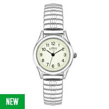 Limit Ladies' Stainless Steel Glow Dial Expander Watch Best Price, Cheapest Prices
