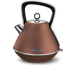 MORPHY RICHARDS Evoke Premium Traditional Kettle - Bronze Best Price, Cheapest Prices