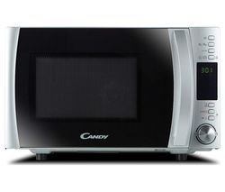 CANDY CMXW 30DS-UK Solo Microwave - Silver Best Price, Cheapest Prices