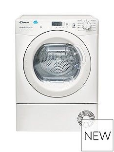 Candy Cs H8A2Le 8Kg Heat Pump, Sensor Tumble Dryer With Smart Touch - White Best Price, Cheapest Prices