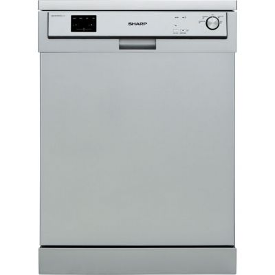 Sharp QW-HX13F472S Standard Dishwasher - Silver - A++ Rated Best Price, Cheapest Prices