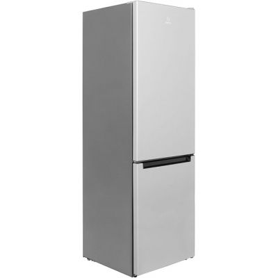 Indesit LR8S1S.1 60/40 Fridge Freezer - Silver - A+ Rated Best Price, Cheapest Prices