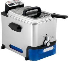 TEFAL Oleoclean Pro FR804040 Deep Fryer - Stainless Steel Best Price, Cheapest Prices