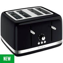 Moulinex 4 Slice Toaster - Black Best Price, Cheapest Prices