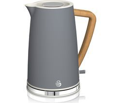 SWAN Nordic Cordless SK14610GRYN Jug Kettle - Grey Best Price, Cheapest Prices