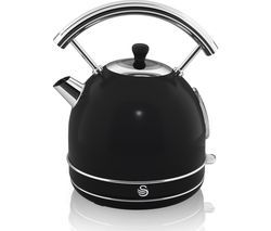 SWAN Retro SK34021BN Traditional Kettle - Black Best Price, Cheapest Prices