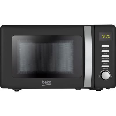 Beko Retro MOC20200B 20 Litre Microwave - Black Best Price, Cheapest Prices