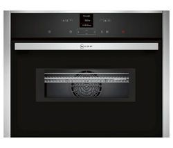 NEFF C17MR02N0B Built-in Combination Microwave - Stainless Steel Best Price, Cheapest Prices