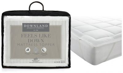 Downland Feels Like Down Mattress Topper - Double Best Price, Cheapest Prices