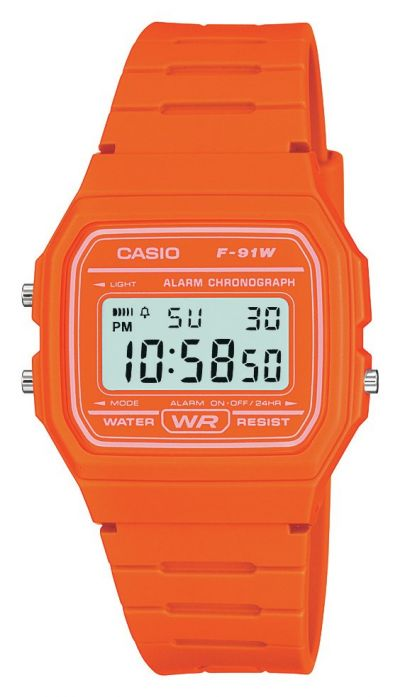 Casio Ladies Orange Resin Strap Watch Best Price, Cheapest Prices