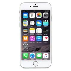 Sim Free iPhone 6 16GB Premium Pre-Owned Mobile Phone Silver Best Price, Cheapest Prices