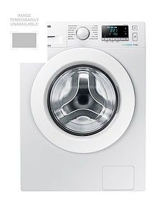 Samsung WW90J5456MW/EU9kgLoad, 1400 Spin Washing Machine with ecobubble™Technology and 5 Year Samsung Parts and Labour Warranty - White Best Price, Cheapest Prices