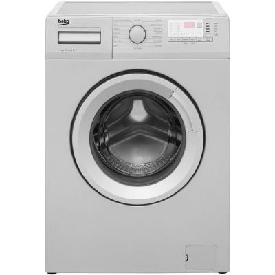 Beko WTG721M1S 7Kg Washing Machine with 1200 rpm - Silver - A+++ Rated Best Price, Cheapest Prices