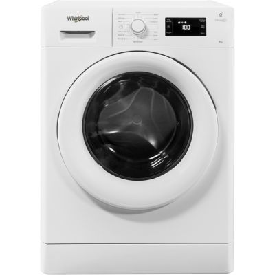 Whirlpool FreshCare+ FWG81496W 8Kg Washing Machine with 1400 rpm - White - A+++ Rated Best Price, Cheapest Prices