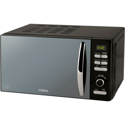 Tower T24019 20 Litre Microwave - Black Best Price, Cheapest Prices