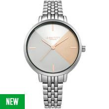 Identity London Ladies' Geometric Dial Bracelet Watch Best Price, Cheapest Prices