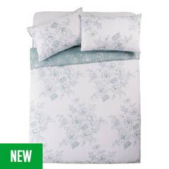 Argos Home Classic Floral Bedding Set Best Price, Cheapest Prices