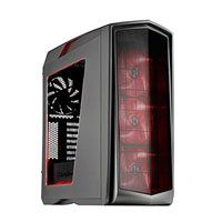 Silverstone SST-PM01TR-W Primera, Mid Tower Computer Chassis, Built in LED Strips, 3x 140mm Fans, mATX/ATX, Titanium Best Price, Cheapest Prices