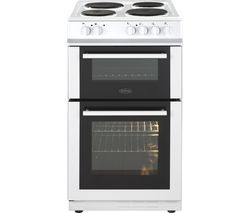 BELLING FS50ET 50 cm Electric Solid Plate Cooker - White Best Price, Cheapest Prices