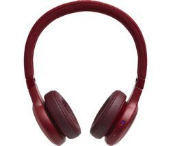 JBL Live 400BT LIVE400BTRED Wireless Bluetooth Headphones - Red Best Price, Cheapest Prices