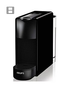Nespresso XN110840 Essenza Mini Coffee Machine by Krups - Black Best Price, Cheapest Prices